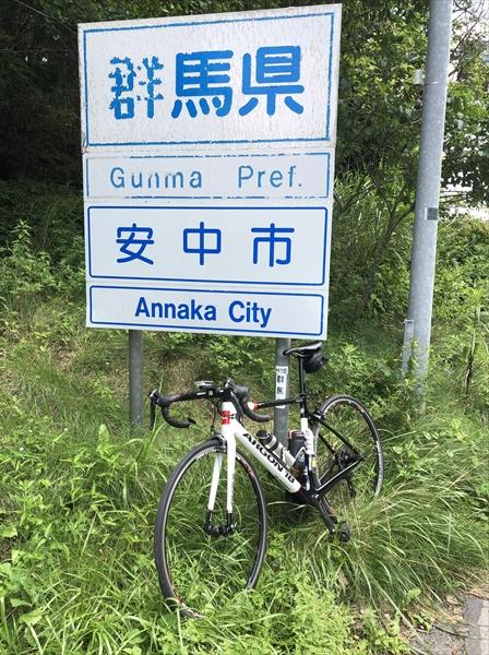 軽井沢へのクラブ・ライド